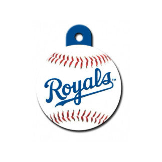 Kansas City Royals MLB Custom Engraved Dog ID Tag - Round