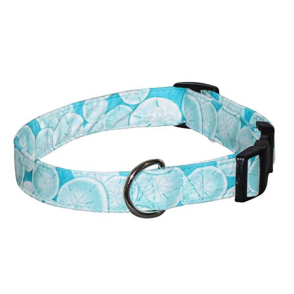 Elmo's Closet Sand Dollar Dog Collar