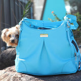 Mia Michele Airline Approved Pet Carry Bag - Sea Glass