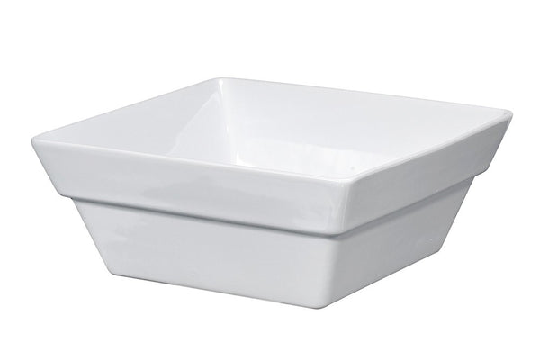 White Ceramic Dog Bowls