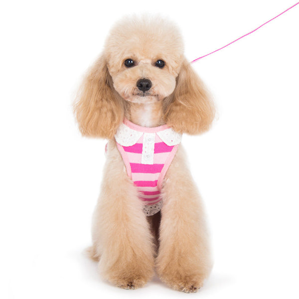 SnapGO Polo Dog Harness - Pink