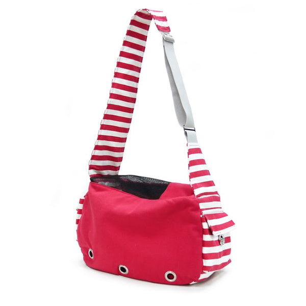 Dogo Soft Sling Dog Bag - Red