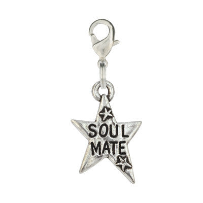 Star Shaped Dog Charm - Soul Mate
