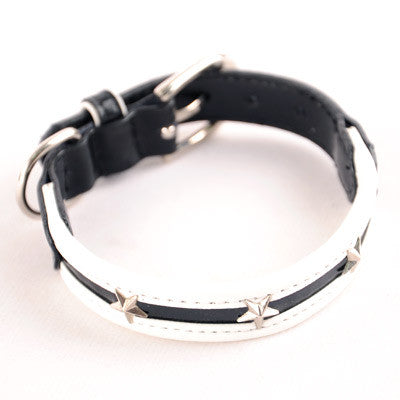 Dogo Star Dog Collar - Black