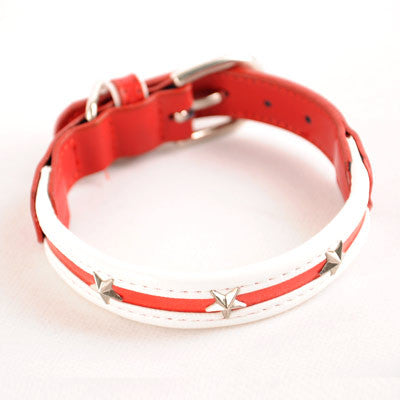 Dogo Star Dog Collar - Red