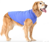 Gold Paw Stretch Fleece Dog Coat - Cornflower Blue