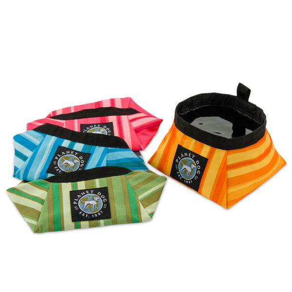 On The Go Dog Food & Water Travel Bowl