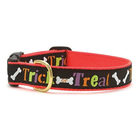 Up Country Trick Or Treat Dog Collar