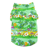 Tropical Island Dog Shirt - Green