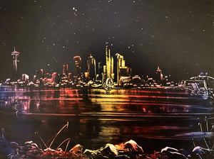 """Late Night At Alki"" SOLD"