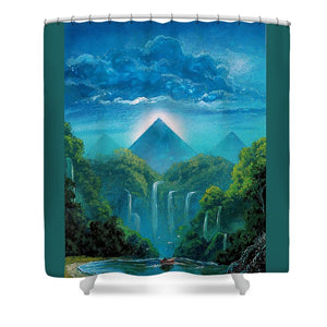 """The Fortunate Outcast"" - Shower Curtain"