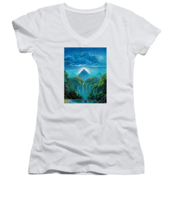 """The Fortunate Outcast"" - Women's V-Neck"
