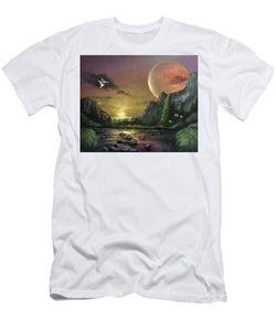 "The Art Surgeon's ""The Mating Ritual""- Men's T-Shirt (Athletic Fit)"
