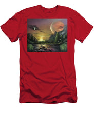 "Load image into Gallery viewer, The Art Surgeon's ""The Mating Ritual""- Men's T-Shirt (Athletic Fit)"