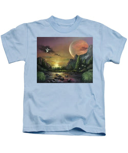 "The Art Surgeon's ""The Mating Ritual"" - Kids T-Shirt"