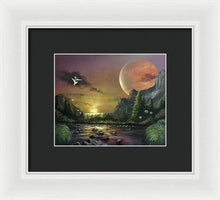 "Load image into Gallery viewer, The Art Surgeon's ""The Mating Ritual""- Framed Print"