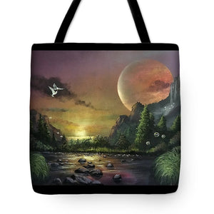 "The Art Surgeon's ""The Mating Ritual"" - Tote Bag"