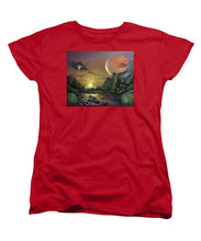 "Load image into Gallery viewer, The Art Surgeon's ""The Mating Ritual""- Women's T-Shirt (Standard Fit)"