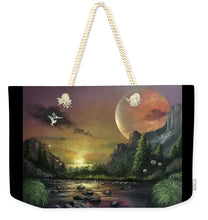 "Load image into Gallery viewer, The Art Surgeon's ""The Mating Ritual"" - Weekender Tote Bag"