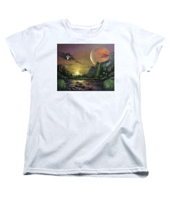 "The Art Surgeon's ""The Mating Ritual""- Women's T-Shirt (Standard Fit)"
