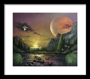 "The Art Surgeon's ""The Mating Ritual""- Framed Print"