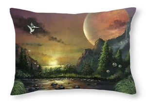 "The Art Surgeon's ""The Mating Ritual"" - Throw Pillow"