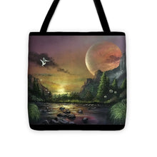 "Load image into Gallery viewer, The Art Surgeon's ""The Mating Ritual"" - Tote Bag"