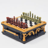 Chess Color Set - Olive Green