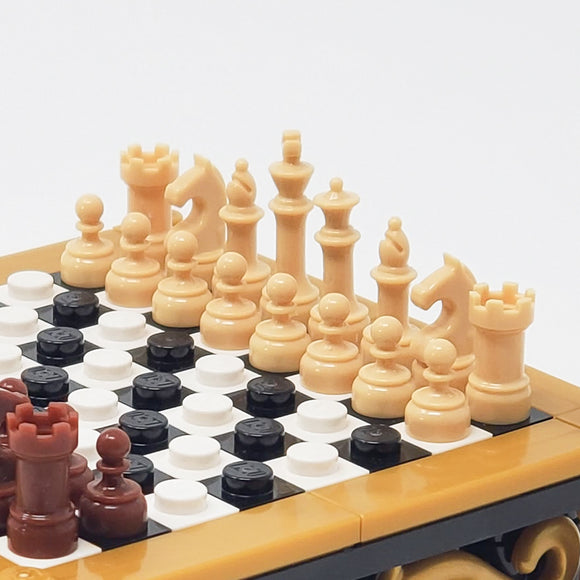 Chess Color Set - Tan