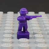 Nano Soldier - Standing with Rifle Variant (Single - Various Colors Available)