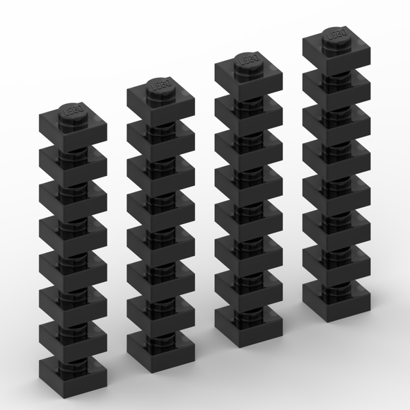 Board Squares Set - Black