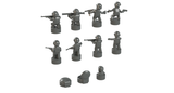 Nano Soldier Figures - Dark Bluish Gray