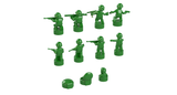 Nano Soldier Figures - Green