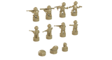 Nano Soldier Figures - Dark Tan