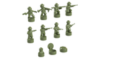 Nano Soldier Figures - Olive Green