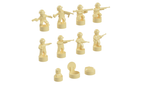 Nano Soldier Figures - Tan