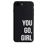 You Go, Girl iPhone Case