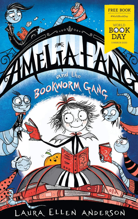 Amelia Fang and the Bookworm Gang WBD 2020 - Paperback - Laura Ellen Anderson - Books2Door