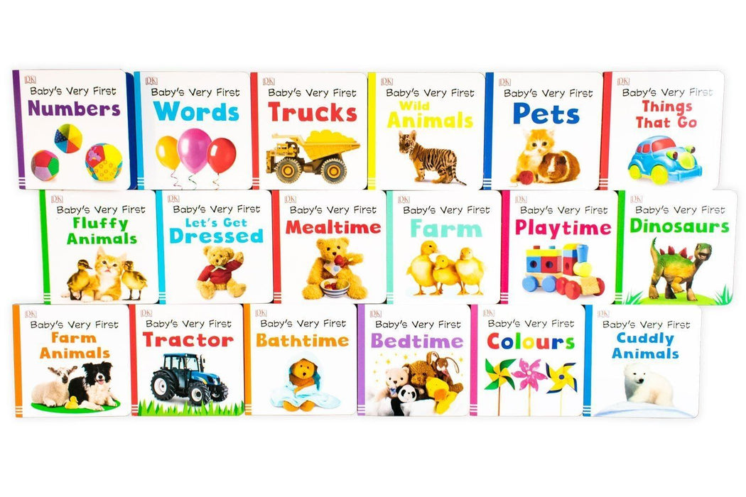 Baby's Very First Library 18 Board Books - Ages 0-5 - Board Books - Books2Door