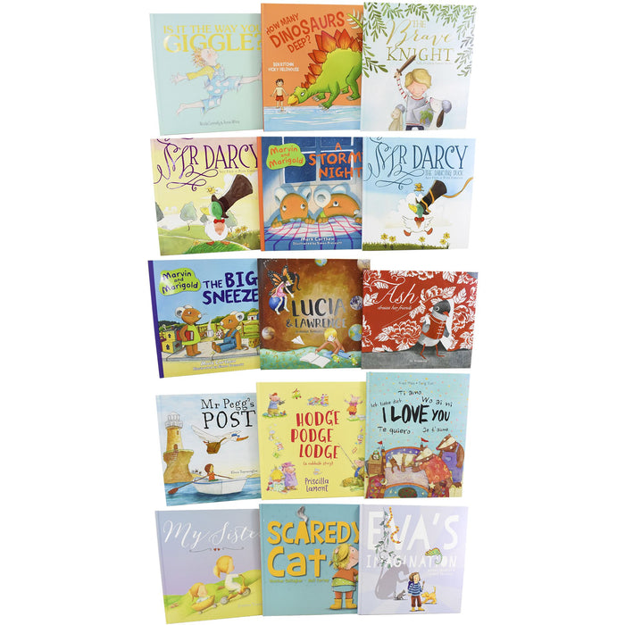 15 Children Picture Books Collection - Ages 0-5 - Hardback 0-5 New Frontier