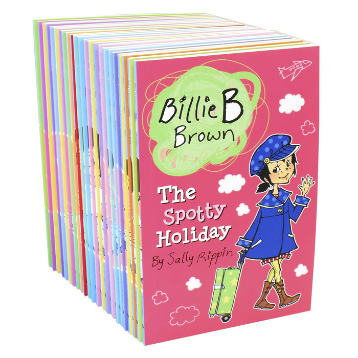 0-5 - Billie B Brown Early Readers Anniversary Collection Sally Rippin 23 Books - Age 0-5- Paperback