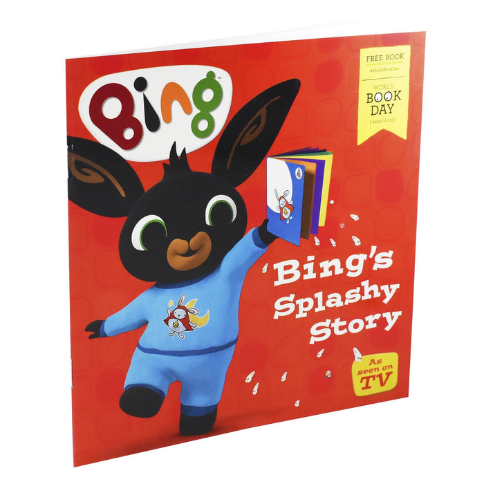 Bing Splashy Story WBD 2020 - Ages 0-5- Paperback By - Books2Door