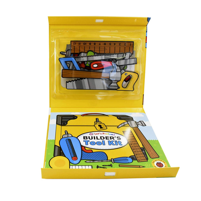 0-5 - Builders Tool Kit Lets Pretend - Ages 0-5 - Board Book - Priddy Books