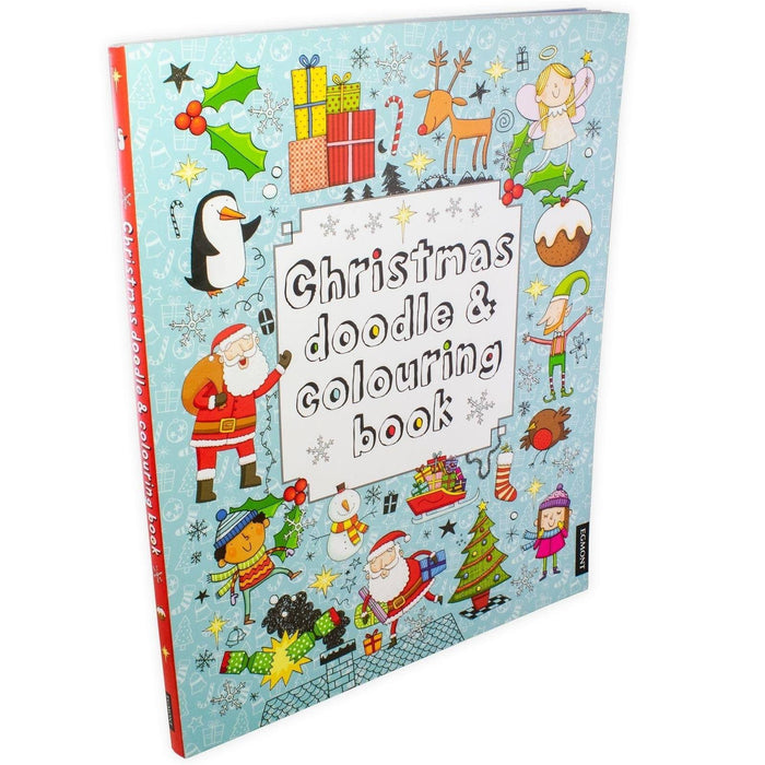 Christmas Doodle and Colouring Book - Paperback - Egmont - Books2Door