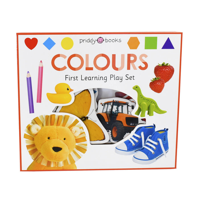 0-5 - Colours First Learning Play Set - Ages 0-5 - Board Book - Priddy Books
