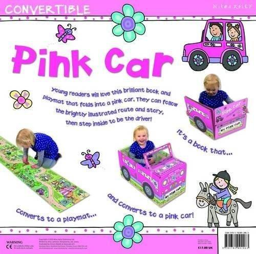 Convertible Pink Car - Ages 0-5 - Board Books - Amy Johnson - Books2Door