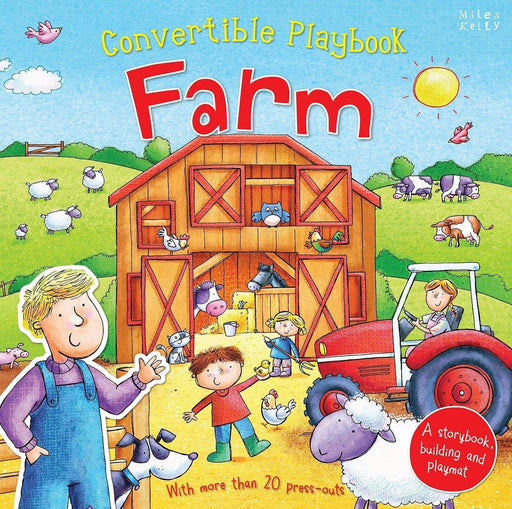 Convertible Playbook Farm - Ages 0-5 - Hardback - Claire Philip - Books2Door