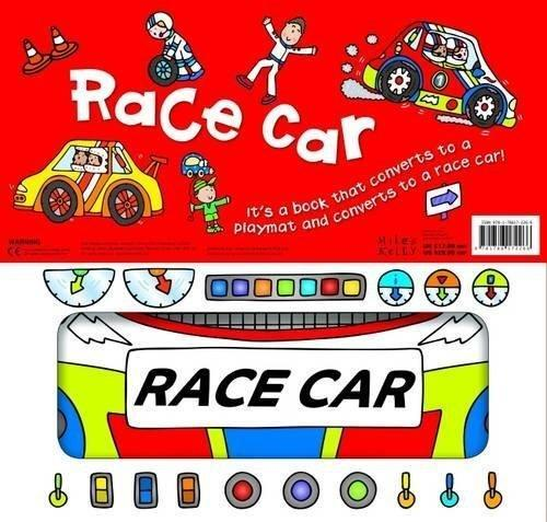 Convertible Race Car - Ages 0-5 - Board Books - Amy Johnson - Books2Door