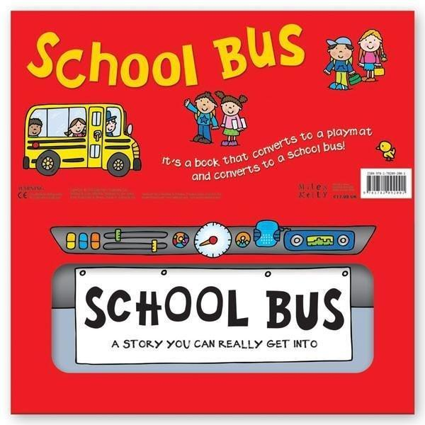 Convertible School Bus - Ages 0-5 - Hardback - Amy Johnson - Books2Door