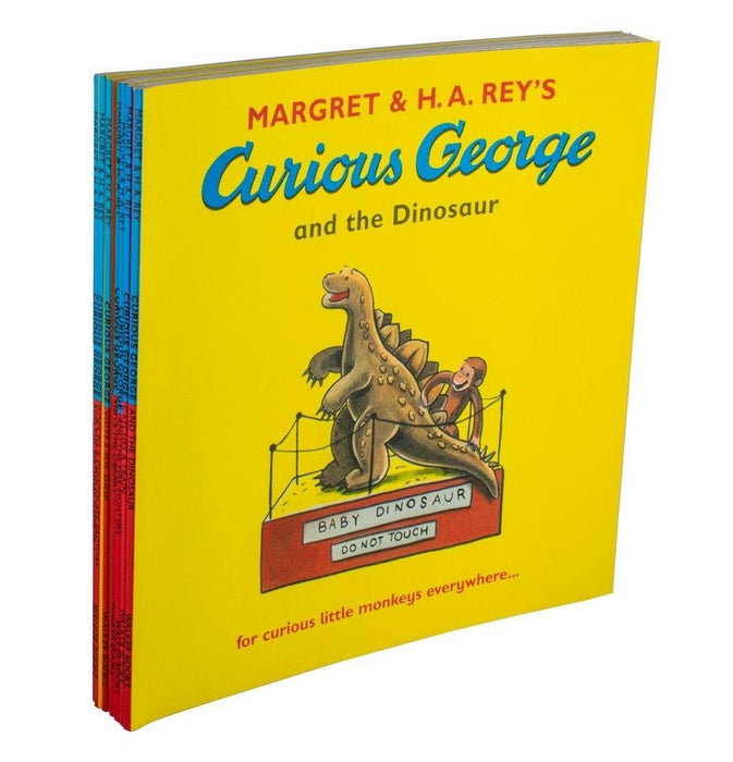 Curious George 7 books bundle - Ages 0-5 - Paperback - Margret & H.A. Rey's - Books2Door